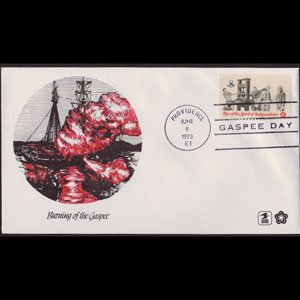 U.S.A. 1973 - Comm.Cover - Gaspee Day