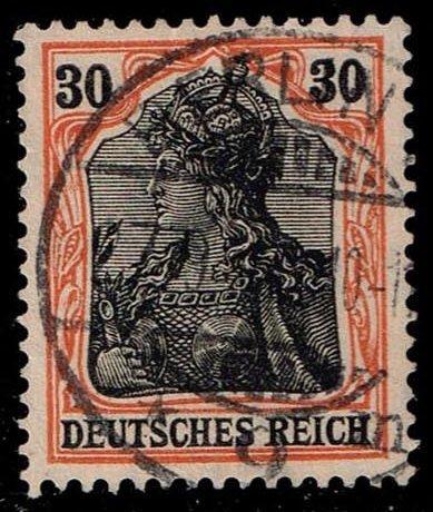 Germany #86 Germania; Used (1.50)