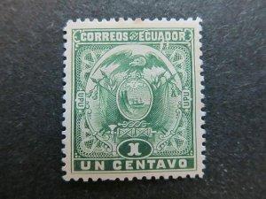 A4P46F58 Ecuador 1897 1c mh*