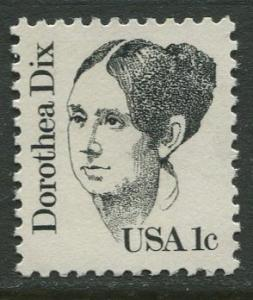 USA - Scott 1844 - Great Americans -1980- MNG - Single 1c Stamp