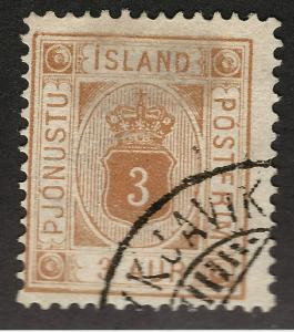 Iceland SC O4 Official Used F-VF SCV $70 Very Nice!