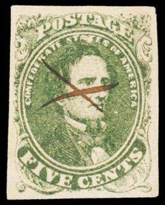 CONFEDERATE STATES 1(var)  Used (ID # 101700)