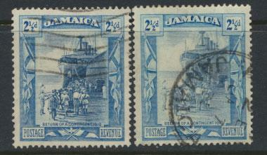 Jamaica  SG 98 and SG 98a - Used see scan and details