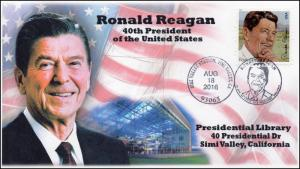 2016  16-373, President Ronald Reagan, Simi Valley CA, Quarter Launch