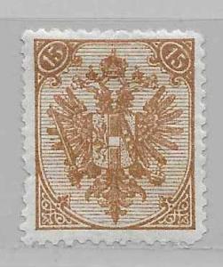 Bosnia and Herzegovina 8b 1894-98 15n Arms MH