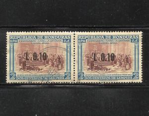 Honduras 1971 Air Mail Scott# C489 Used Pair