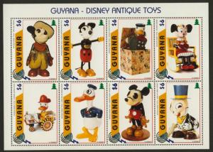 Guyana 3098 MNH Disney, Antique Toys on stamps