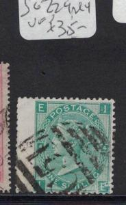 Great Britain Used Abroad St Thomas SG Z29, Pl 4 VFU (1dtl)