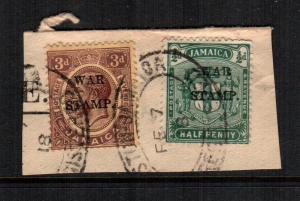 Jamaica  MR7 - MR9 used cat $ 2.00