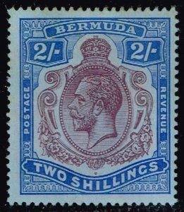 Bermuda #49 King George V; Unused (3Stars)