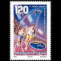 HUNGARY 2004 - Scott# 3879 Indoor Track Set of 1 NH