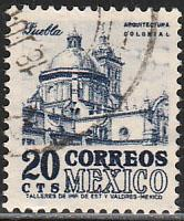MEXICO 878a, 20cents 1950 Definitive 2nd Printing wmk 300. USED. F-VF. (1404)