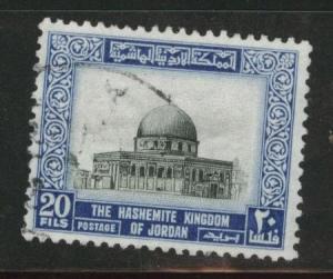 Jordan Scott 332 Used watermarked 1954 type stamp
