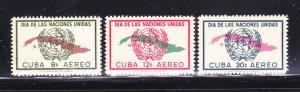 Cuba C169-C171 Set MNH UN (A)