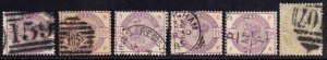 GREAT BRITAIN SC 96a,101//103 SOUND COLLECTION LOT $300 SCV