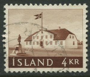 Iceland - Scott 316 - General Issue -1958 - VFU - Single 4k Stamp