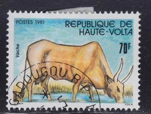 Burkina Faso 589 Cow 1981