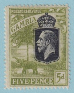 GAMBIA 109 MINT HINGED OG*  NO FAULTS EXTRA FINE