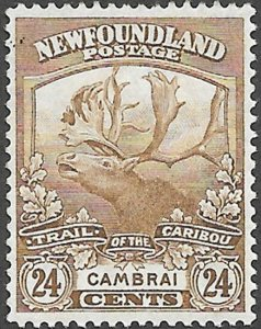 Newfoundland Scott Number 125 VF H