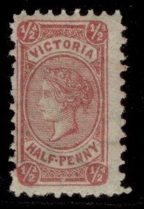 AUSTRALIA - Victoria QV SG207, ½d rosine, M MINT. Cat £65. PERF 12½
