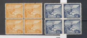 Canal Zone 1951 US Airmail Scott#C30/C31 MNH/MH JK2505