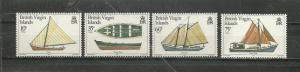 British Virgin Islands # 480-483