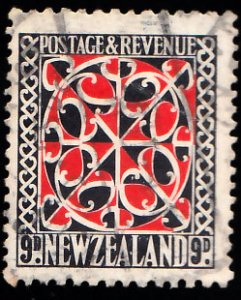 New Zealand Scott 195 Used.