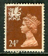 Great Britain, Region, Wales; 1991: Sc. # WMMH45: O/Used Single Stamp