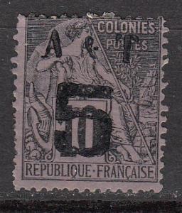 Annam & Tonkin 3 Y&T 4 MHR AF 1888 SCV $47.50