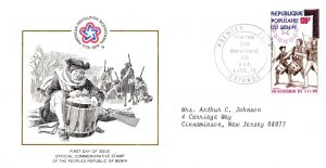 Benin, Worldwide First Day Cover, Americana
