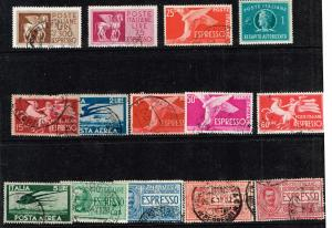 ITALY STAMP  COLLECTION LOT #W5