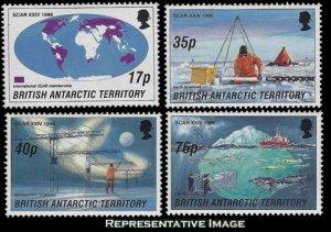 British Antarctic Territory Scott 235-238 Mint never hinged.