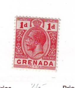 Grenada Sc 80 1913 1d George V stamp mint