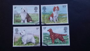 Great Britain 1979 Dogs Used