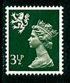 Scotland - #SMH3 Machin Queen Elizabeth II - MNH