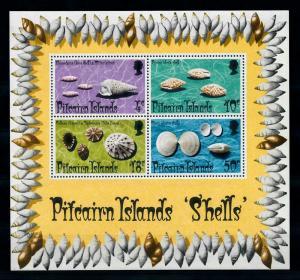 [99475] Pitcairn Islands 1974 Marine Life Sea shells Souvenir Sheet MNH