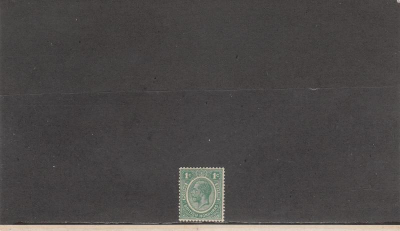BRITISH HONDURAS *92 MINT 2014 SCOTT CATALOGUE VALUE $14.00