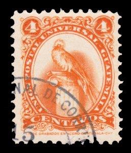 GUATEMALA STAMP 1957. SCOTT # 370. USED. # 2