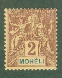 R82-0001 MOHELI 2 MH SCV $2.50 BIN $1.50