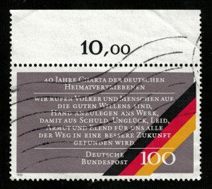 Deutsche Bundespost 100Pfg (3546-Т)