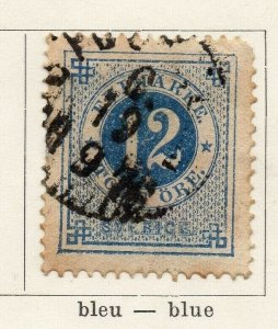 Sweden 1872 Early Issue Fine Used 12ore. NW-04590