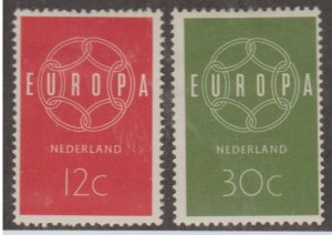 Netherlands Scott #379-380 Stamps - Mint Set