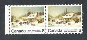 CANADA LOW MOON VARIETY SCOTT 610p VF MINT NH (BS19022)