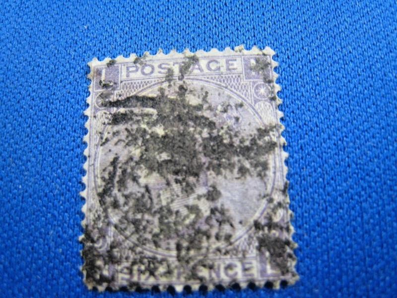 GREAT BRITAIN  -  SCOTT #45  -  Used      (brig)