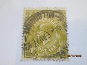 Australia #34 used