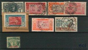 44850 - IVORY COAST Côte d'Ivoire - POSTAL HISTORY - USED  stamps nice POSTMARK