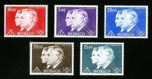 Monaco Stamps # C34-8 XF OG NH Catalog Value $30.60