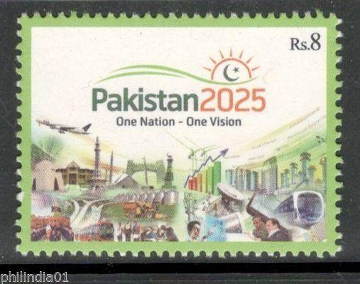 Pakistan 2014 Pakistan 2025 One Nation-One Vision Economy & Industry MNH # 4186
