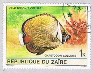 Zaire 974 Used Tropical Fish 1980 (BP40204)