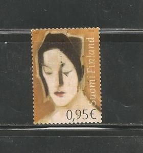 #1257 Fortune Teller, by Helene Schjerfbeck